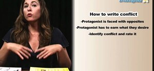 Add conflict to a story when writing a novel