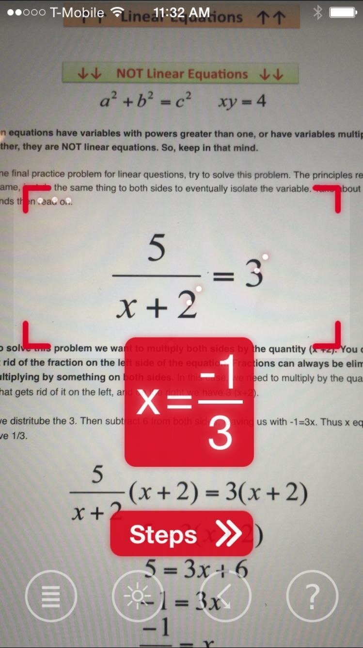 Solve my math problem for free