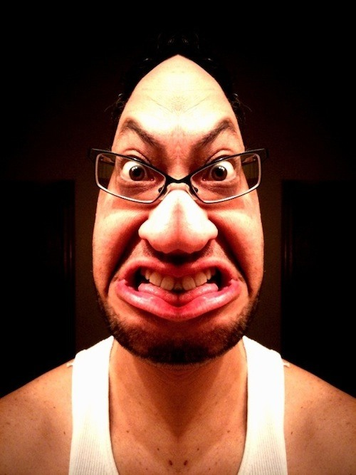 Get Inspired! 20 Funny Faces Captured with Cell Phones