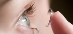 Maintain and apply colored or prescription contact lenses