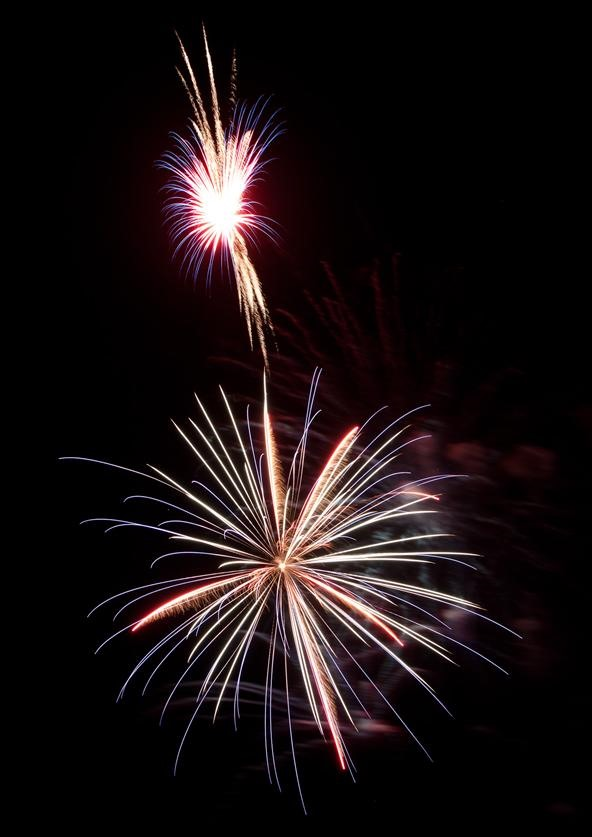 Fireworks Photography Challenge: Bombs Bursting In Air