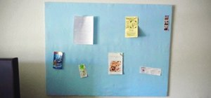 Make a Personalized Home Bulletin Board for Cheap