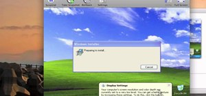 Install Windows XP on a Mac using VMware Fusion