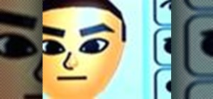 Create a Mii on your Nintendo Wii system