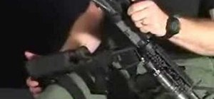 Use the Systema Pro Training M16-A3 airsoft rifle