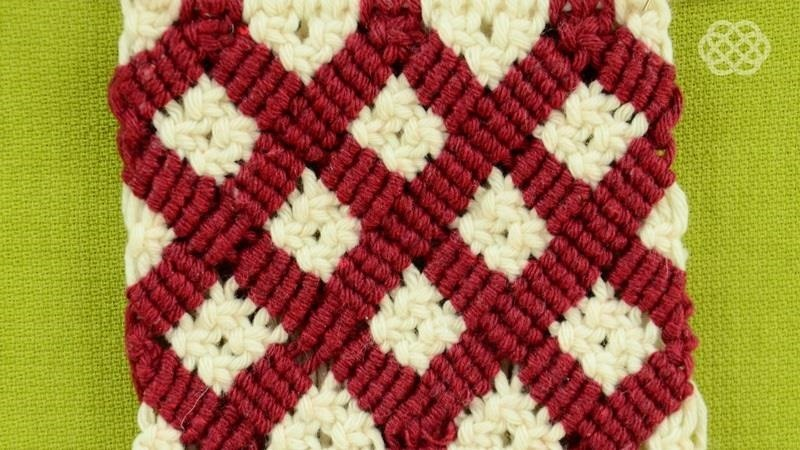 Macrame ABC - Pattern Sample #19