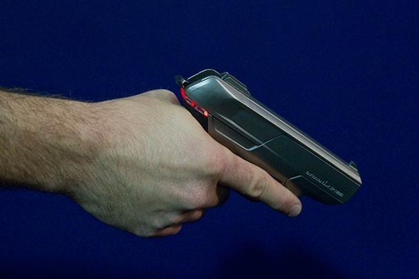 Digital Handgun Won't Fire Without Custom Wristwatch