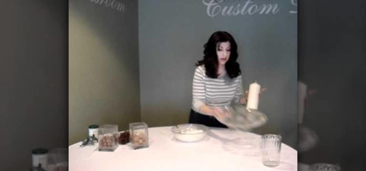 How to make a snowy diy centerpiece using artificial snow 171 holidays