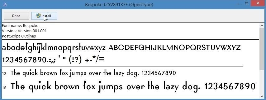 How to Easily Create Your Own Custom Font from Scratch