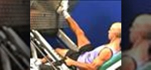 Do a leg press with one leg