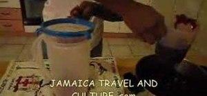 Prepare a Jamaican sorrel drink
