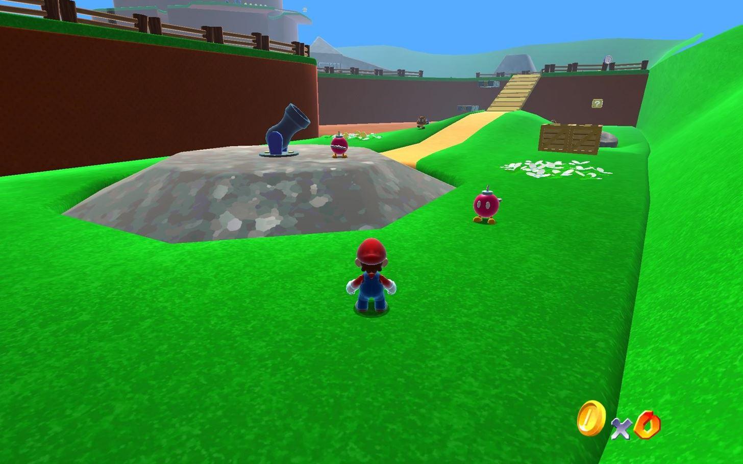 Super Mario 64, the weight of Big Bob-omb?