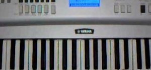 """Play """"Cleaning Out My Closet"""" by Eminem on piano"""