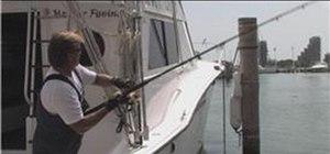 Use a fishing jig
