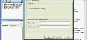 Protect VBA code in Microsoft Office Access 2007