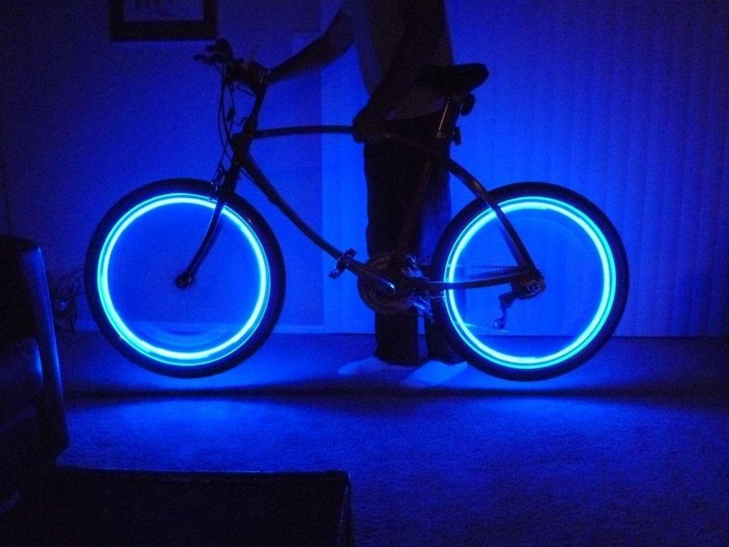Illuminate your bike at night with these super bright diy rim lights an error occurred aloadofball Choice Image