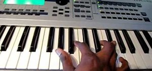 "Play the B.o.B song ""Don't Let Me Fall"" on piano"