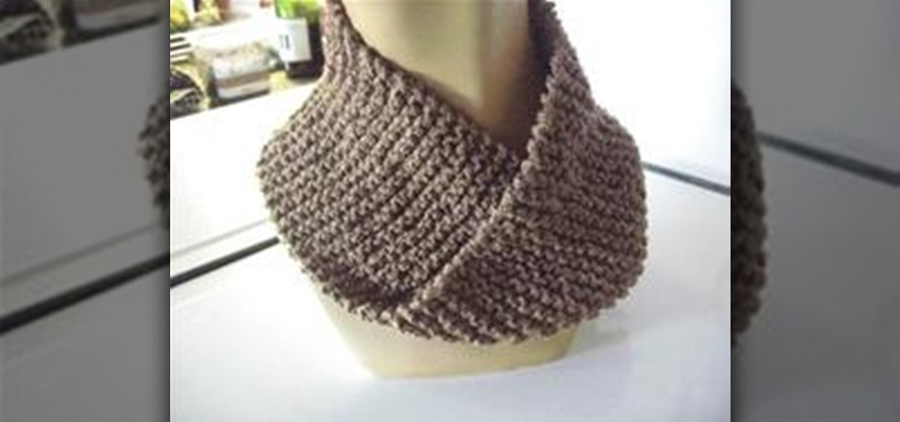 Mobius Scarf Knitting Pattern Infinity : How to Knit a Fake Mobius Scarf   Knitting & Crochet