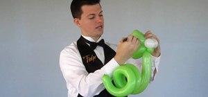 Make a 2 balloon simple snake