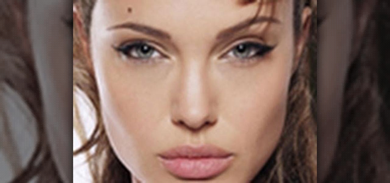 How to Create Angelina Jolieu0026#39;s signature cat eyes and ...