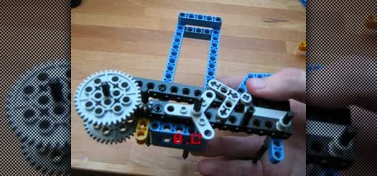 How To Make A Semiautomatic Lego Rubber Band Gun Novelty