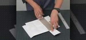 Make a Tyvek wallet out of a FedEx envelope