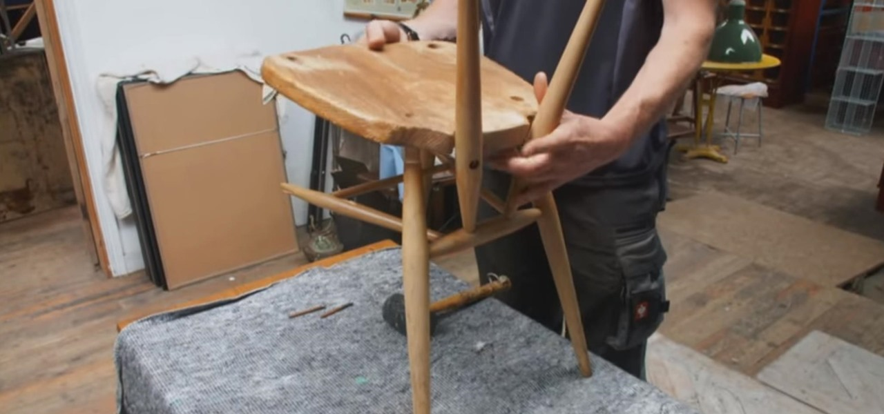 How To Fix Old Wooden Chairs How To Paint An Old Wooden
