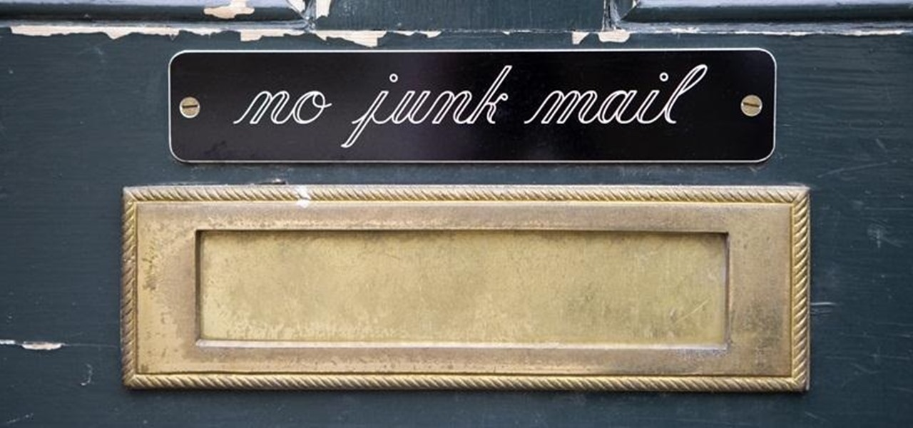 Eradicate Unwanted Junk Mail from the Post Office Forever (Or… Repurpose It!)