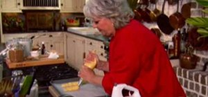 Make chocolate stuffed eclairs with Paula Deen