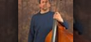 Play songs on the upright bass in 4/4 time