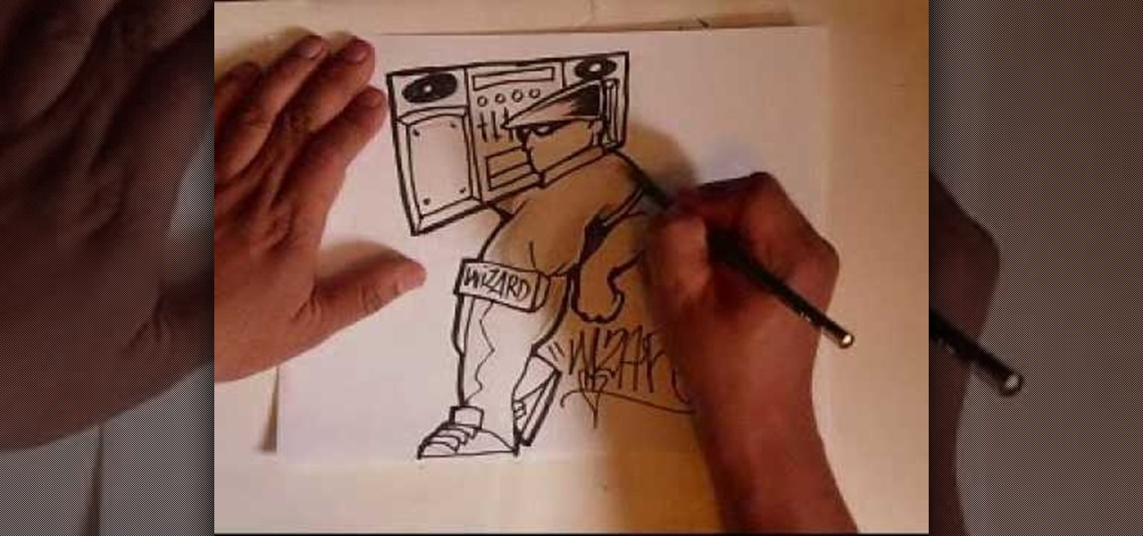 How to Draw a graffiti character « Graffiti & Urban Art