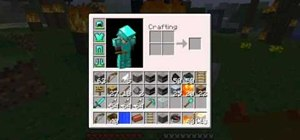 Build a well and a firepit for infinite fire and water in Minecraft