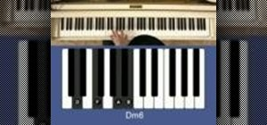 Experiment with chords while playing piano