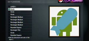 Make a Google Android playercard emblem in Call of Duty: Black Ops
