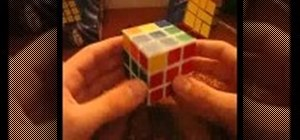 Solve the Rubik's Cube F2L with the Keyhole Method