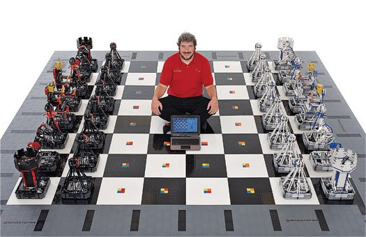 Harry Potter Freak Spends $30,000 Recreating Magical Chess Set With 100,000 LEGOs