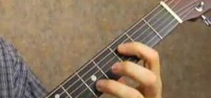 Play guitar using octaves