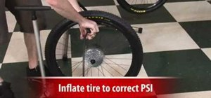 Change a mountain bike tire