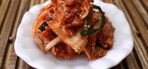 Make napa cabbage kimchi