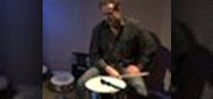 Tune the snare drum