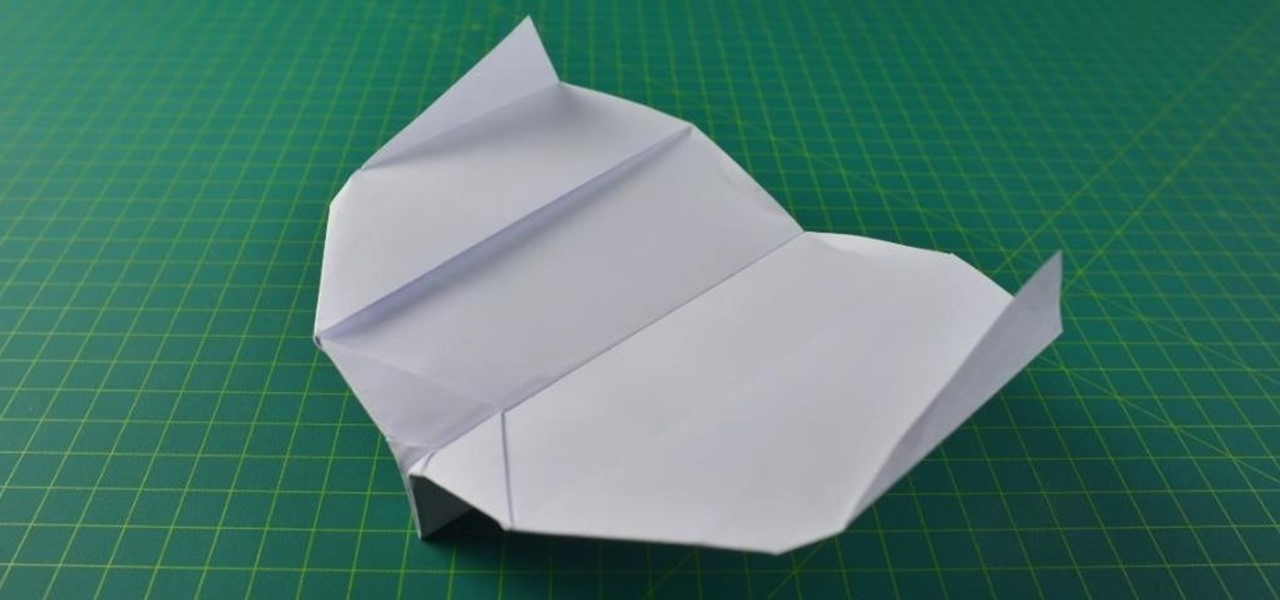 Make a Paper Plane That Flies Back Like a Boomerang