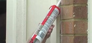 Caulk your home to save money on energy bills