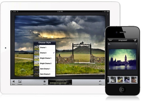 Ring in the New Year with a Free Copy of Snapseed