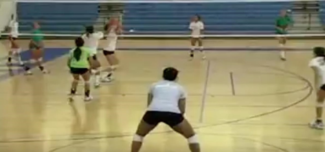 Practice Some Volleyball Positions and Skills