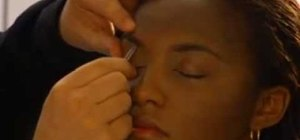 Shape your eyebrows with eyebrow guru Ramy Gafni