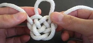 Tie the Djinn Bottle decorative knot