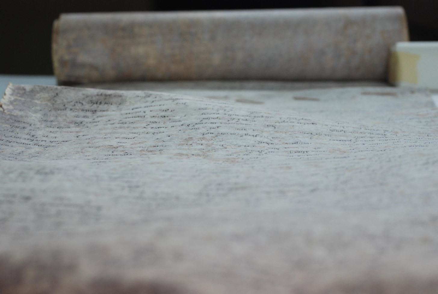 Out Damn Spot! Researchers Discover Microbes Are the Reason for Stains on Ancient Scrolls