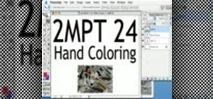 "Create ""hand-colored"" effects in Photoshop"
