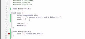 Use namespace std when writing code in C++