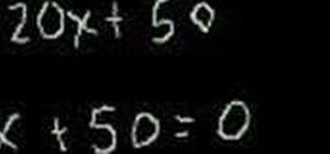 Factor and solve a quadratic equation in algebra